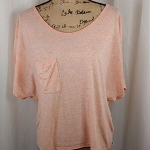 Victoria's Secret Peachy Pink Slouchy Tee S